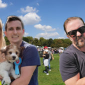 Pup Aid 2018 – Duggee meets Ricky Gervais and Rachel Riley