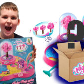 A Mystery Box of Toys and playing with the So Magic DIY Wonder Magic Garden!