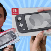 Unboxing and Setting Up the Nintendo Switch Lite
