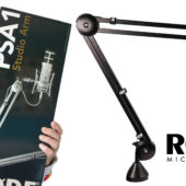 Unboxing and Setting Up the RØDE PSA1 Swivel Mount Studio Microphone Boom Arm