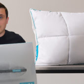 Unboxing the Simba Hybrid Pillow with OUTLAST and Down