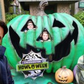 Chessington Howl'o'ween 2019 – Opening Day – Inside the new maze Spyders & Trick or Treat Woods.