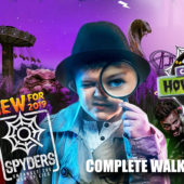Chessington Howl'o'ween 2019 – Opening Day – Spyders – Complete Walkthrough