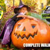 Chessington Howl'o'ween 2019 – Opening Day – Trick or Treat Woods – Complete Walkthrough
