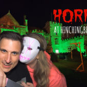 Horror at Hinchingbrooke House 2019 – Walkthrough – We go in ALONE!! HE BIT MY NOSE!!