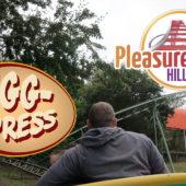 POV of EggSpress at Pleasurewood Hills ( formally Ladybird Coaster / Rattlesnake ) – 4k Hypersmooth