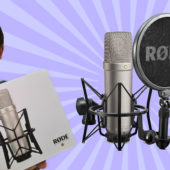 Unboxing the Rode NT1-A XLR Microphone