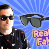 How to spot fake Ray-Ban New Wayfarer Sunglasses