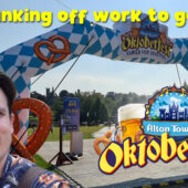 Bunking off work to check out Alton Towers Oktoberfest 2020