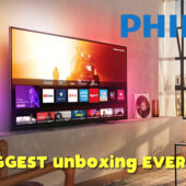 Unboxing and Setting Up the 2020 Philips 7800er Series 50″ 4K TV – 50PUS7855